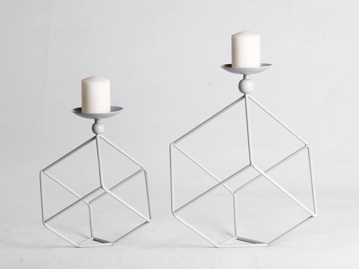 TRAM metal candle holder